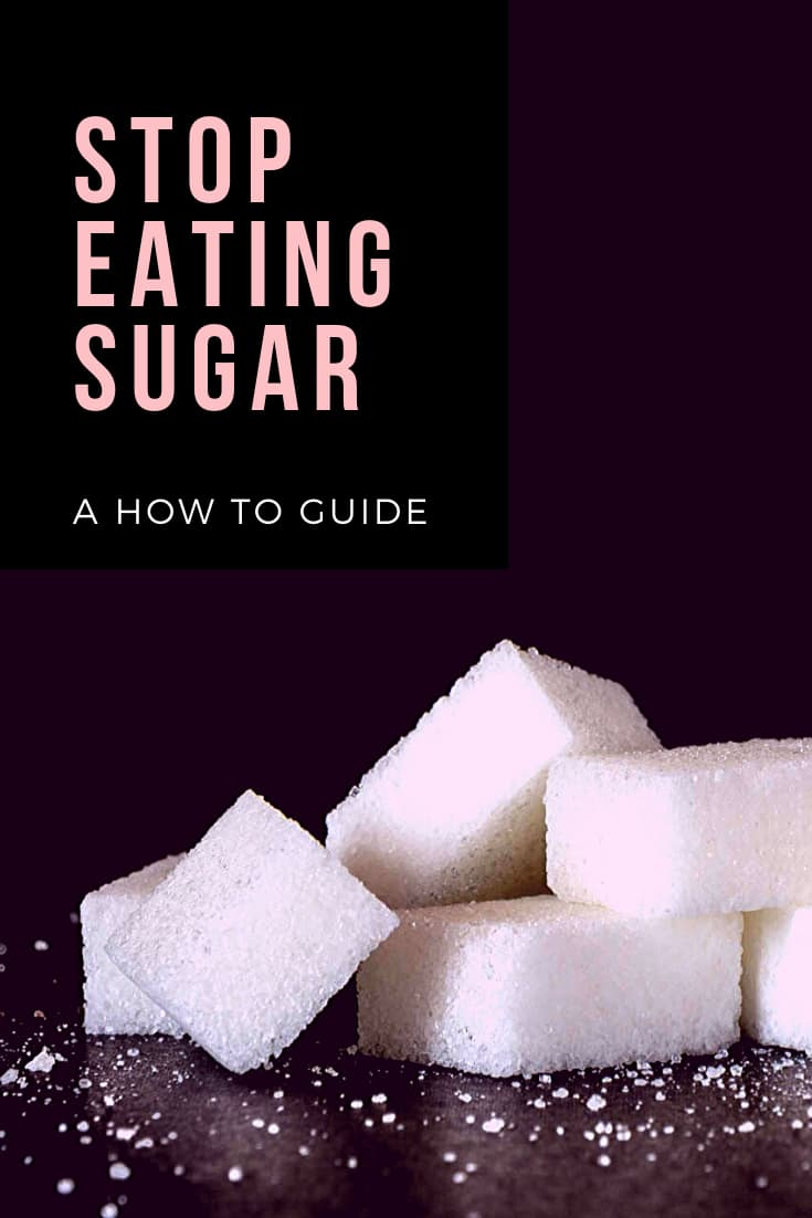 how to stop eating sugar to prevent weight gain and aging