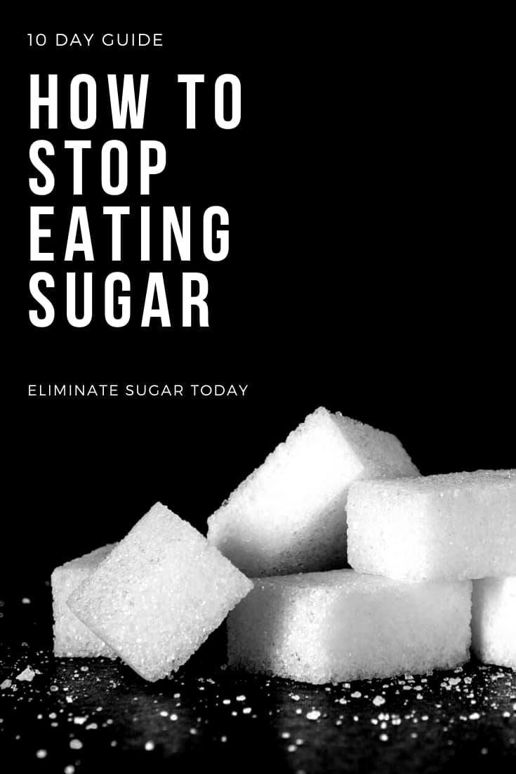 how to stop eating sugar - a sugar detox guide