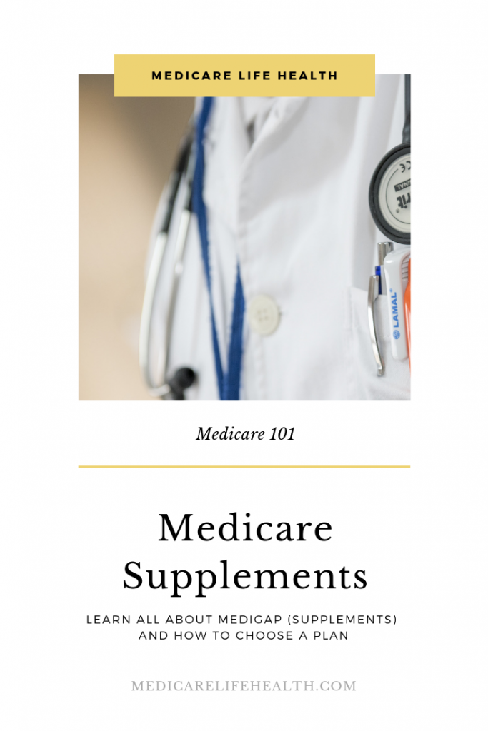 Medicare Supplements - Medicare Life Health Pin - Medigap