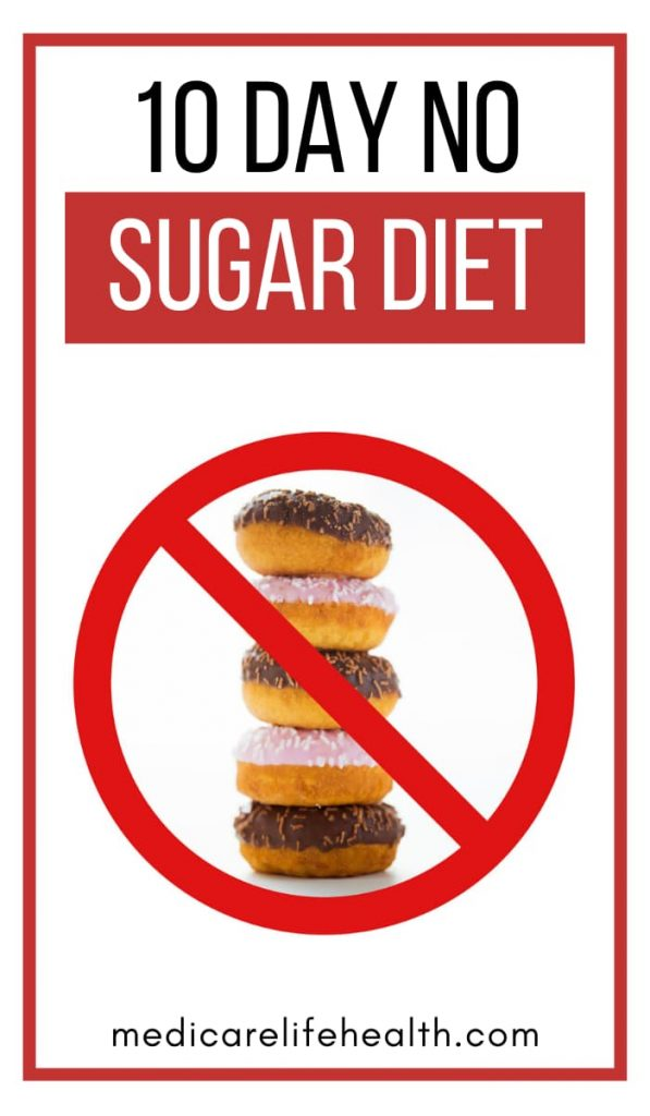 10 Day No Sugar Diet Pin