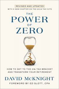 best near retirement money books: The Power of Zero Book cover