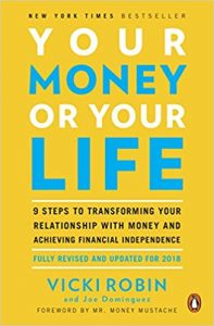 your money or your life by vicki robin book cover