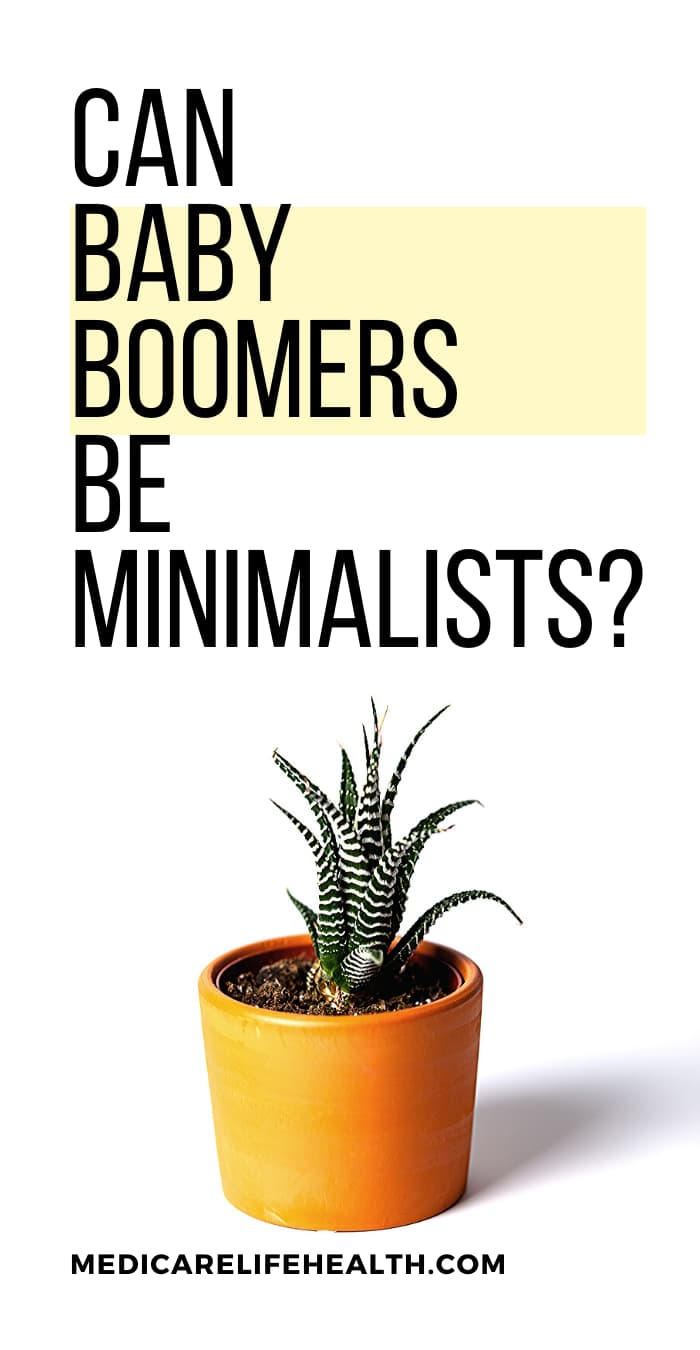 Can baby boomers be minimalists
