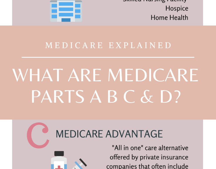 Medicare Parts A B C D Explained