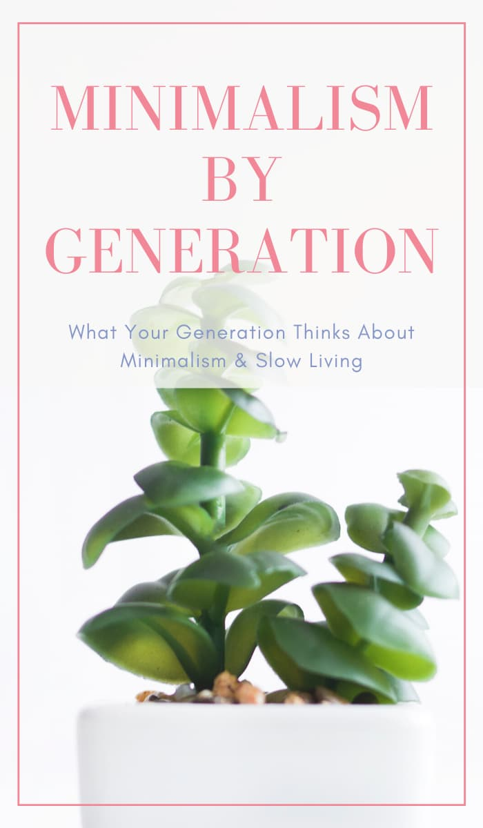 Minimalism by Generation