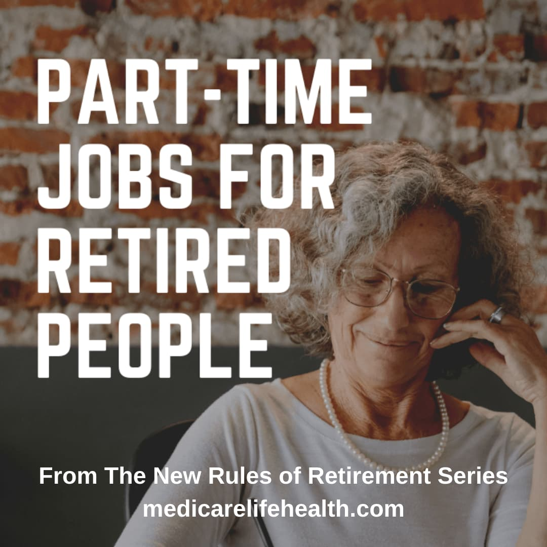 part time jobs for retired people