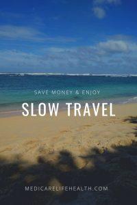 Slow Travel - Beach Scene