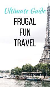 Slow Travel + Frugal Travel