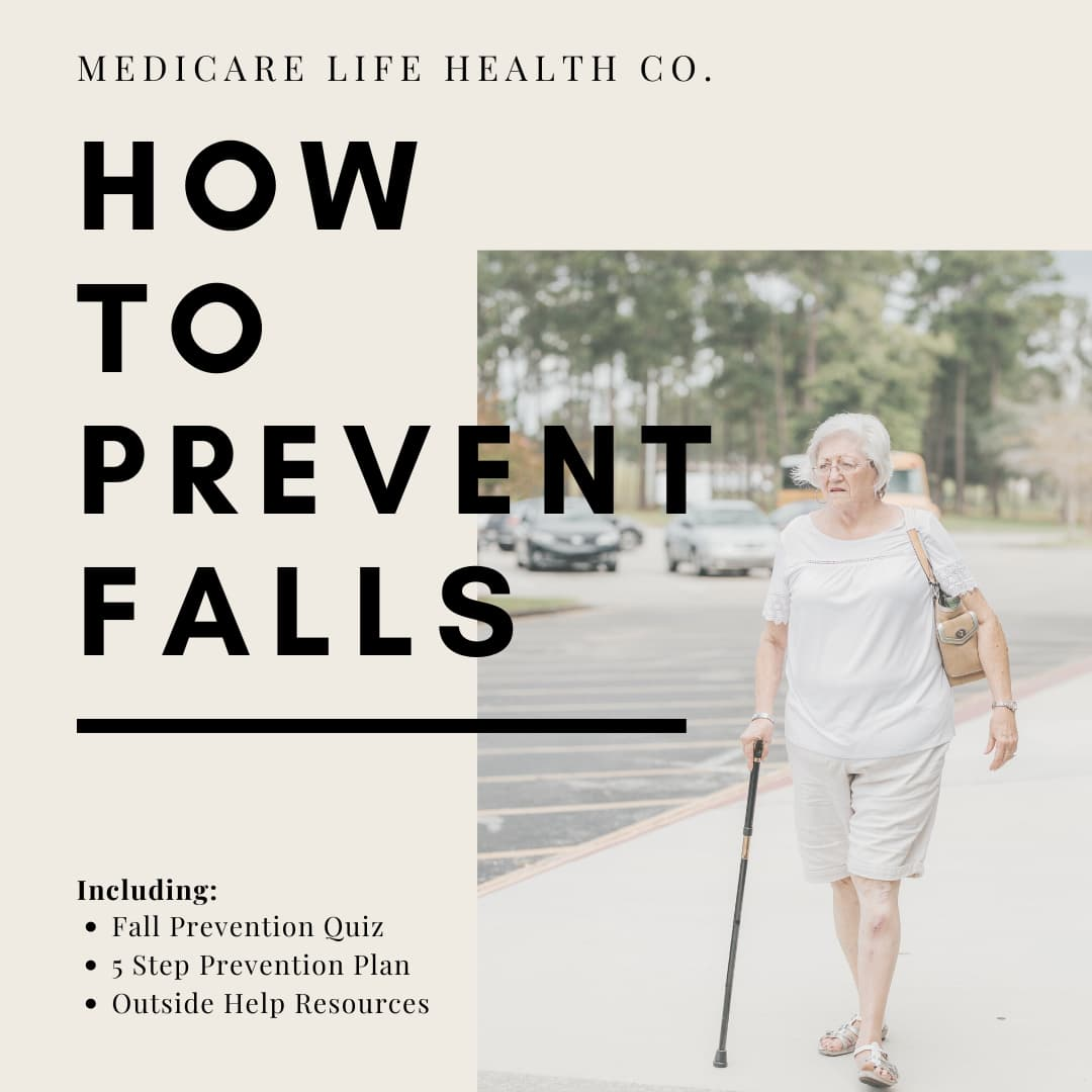 how to prevent falls, with a quiz and 5 step prevention plan