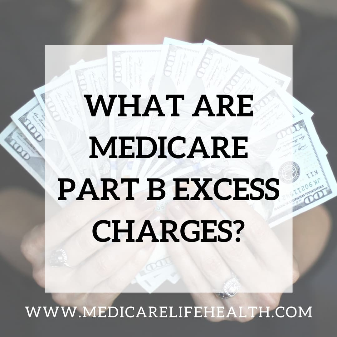 what are medicare part b excess charges