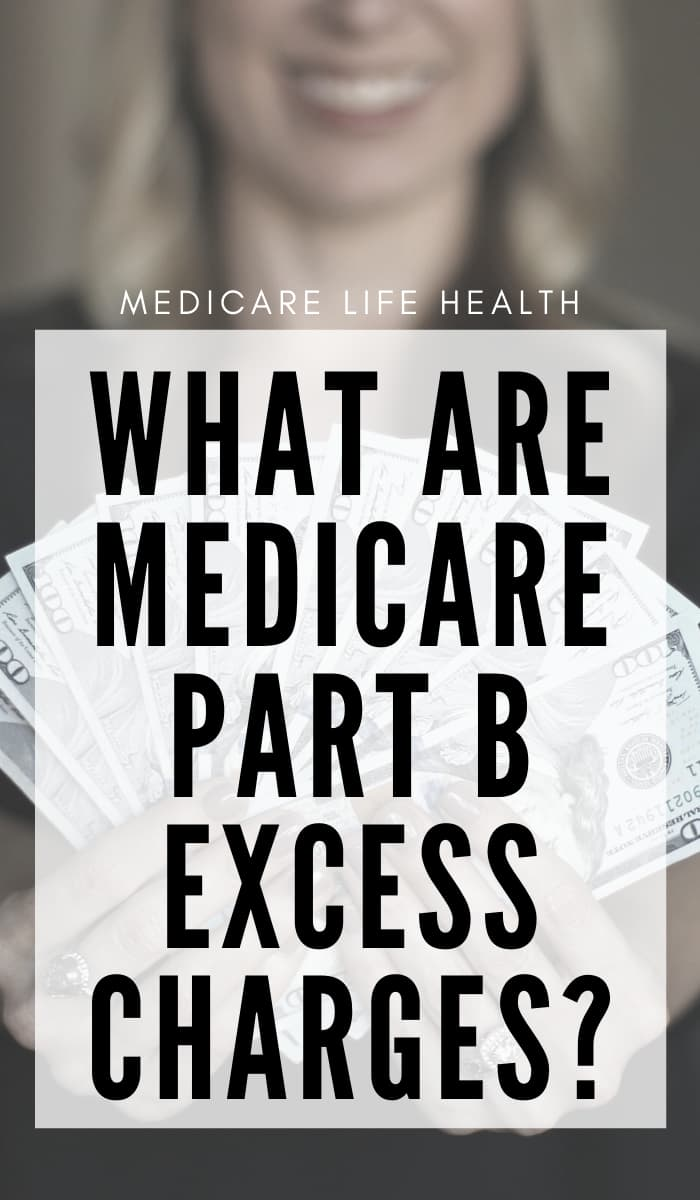 what are medicare part b exciess charges PIN