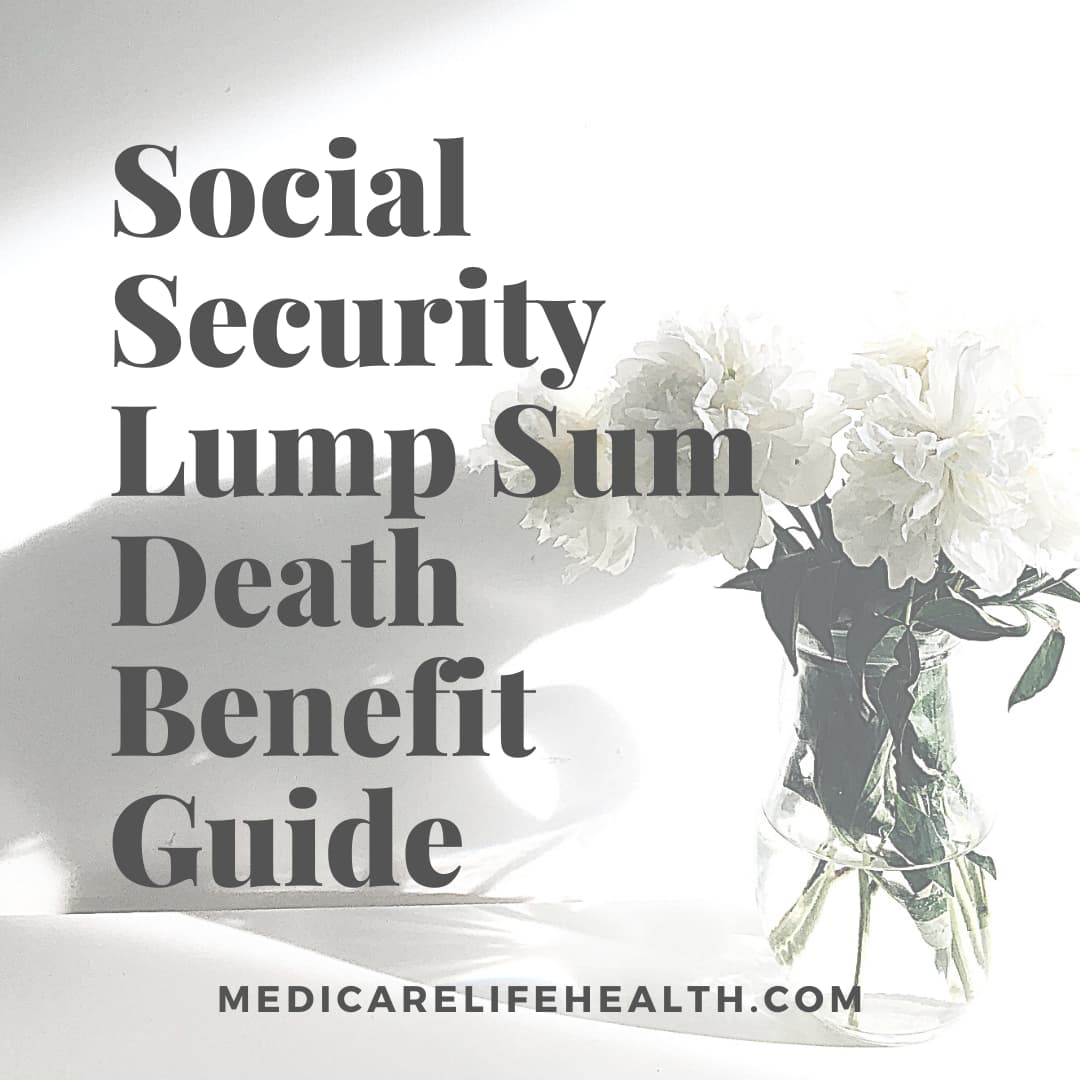 Social security lump sum death benefit guide
