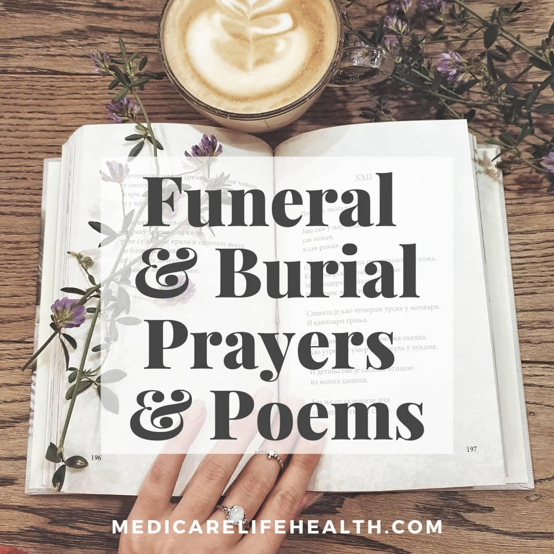 funeral prayers, funeral poems, burial prayers, burial poems